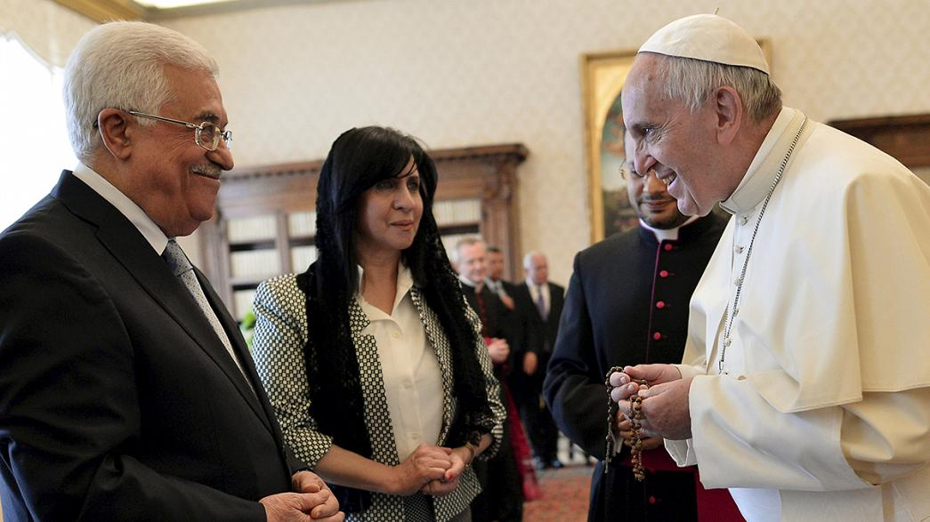 Vaticano e Palestina estreitam relações