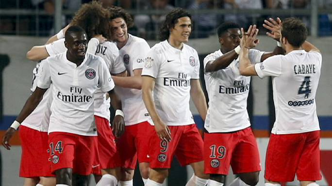 PSG win French title for the third year in a row