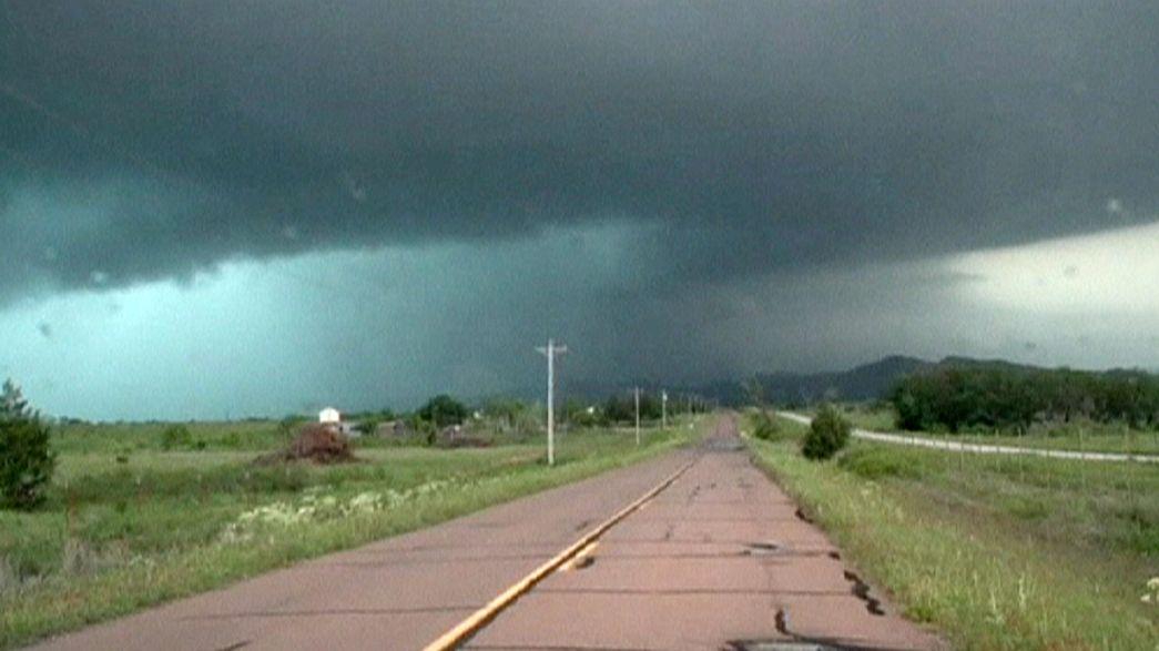 US Great Plains on tornado watch