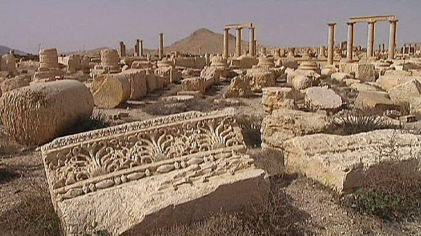 Siria, combattimenti su Palmira