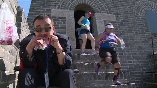 Marathon auf der Chinesischen Mauer