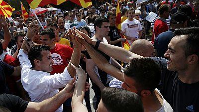 Macedónia: Mais de 20 mil exigem a demissão do primeiro-ministro