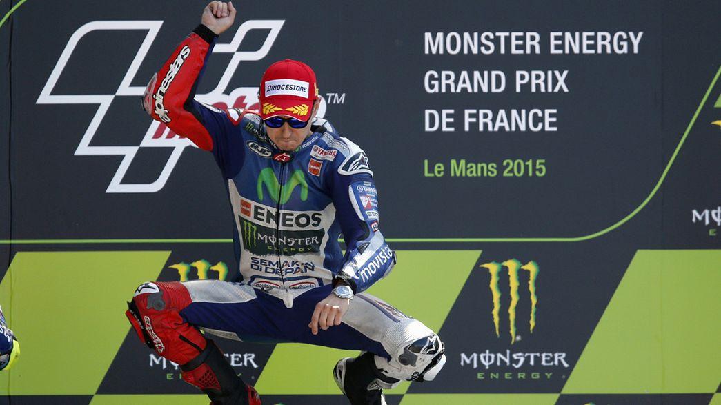 Jorge Lorenzo gana el Gran Premio de Francia
