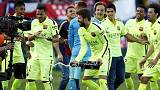 برشلونة يفوز بلقب الدوري الإسباني