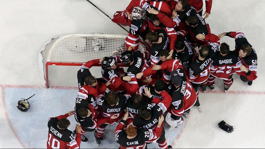 Hockey sur glace : le Canada récupère sa couronne