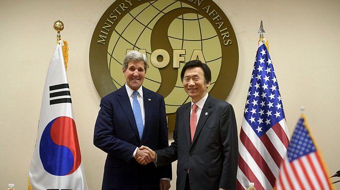 كيري يزور كوريا الجنوبية للتباحث بشأن كوريا الشمالية والأمن