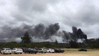 US Marine killed and dozens hurt in Hawaii training exercise