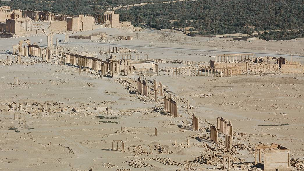 ISIL's cultural threat to Syria's ancient citadel of Palmyra