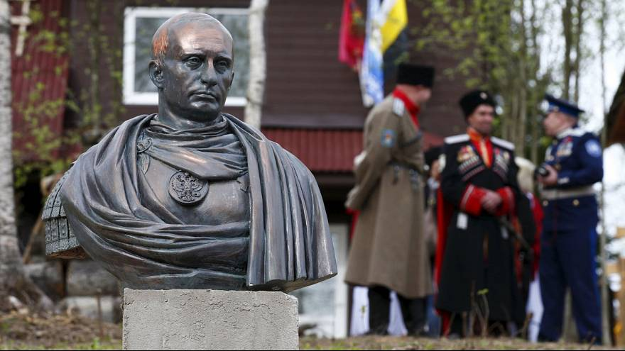 New bust depicts Putin as Roman emperor