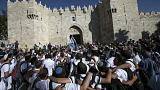 "Clashes erupt amid ""Jerusalem Day"" celebrations"