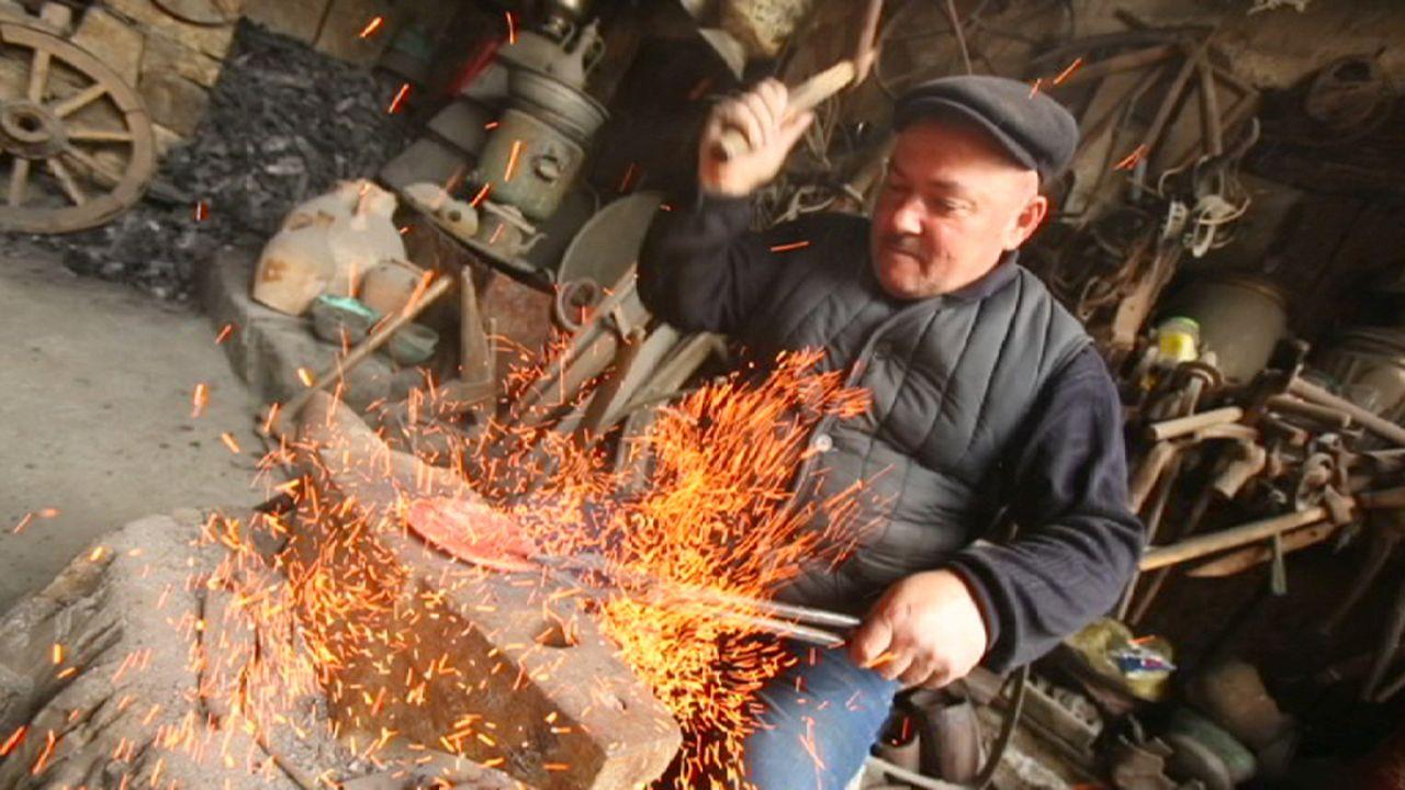 Os mestres caldeireiros do Cáucaso