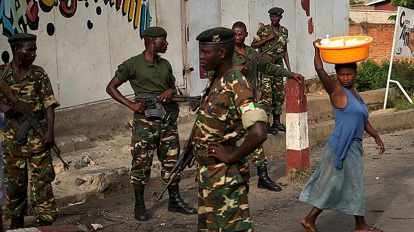 Burundi: gunfire rings out as army attempts to quell anti-president protests