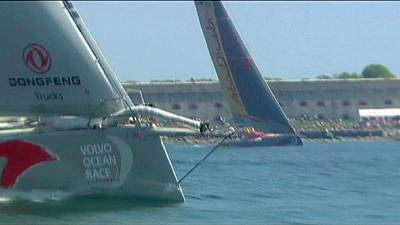 Volvo Ocean Race: Fleet sets sail for leg seven