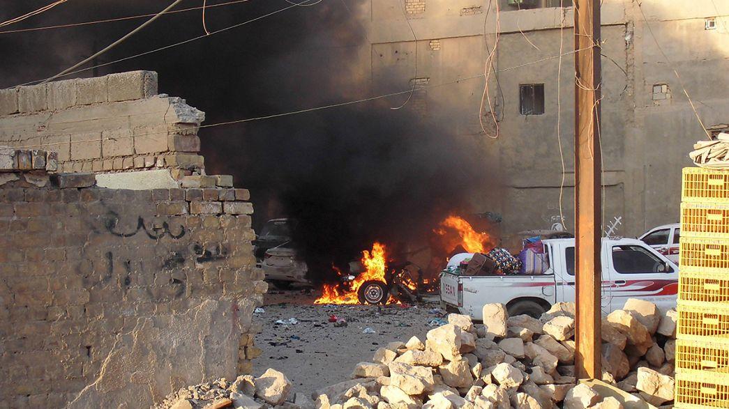 Shi'ite forces prepare to re-take fallen Iraqi city of Ramadi