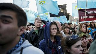 Tatars remember WW2 Crimea deportation victims