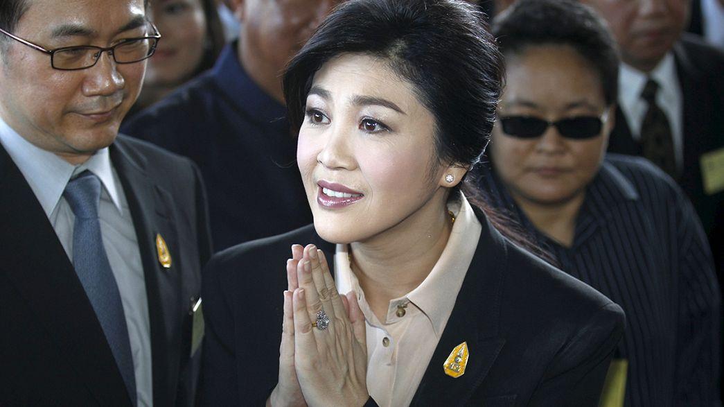 Juicio contra la ex primera ministra de Tailandia, un año después del golpe de Estado