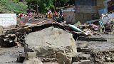 Más de sesenta muertos en una avalancha en el noreste de Colombia