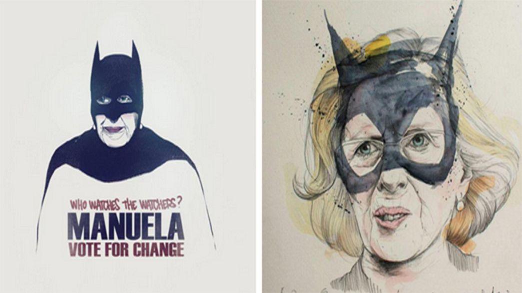 La creatividad inunda la campaña para las elecciones de Madrid y Barcelona
