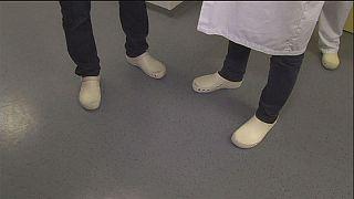 Chip no sapato combate infeções hospitalares