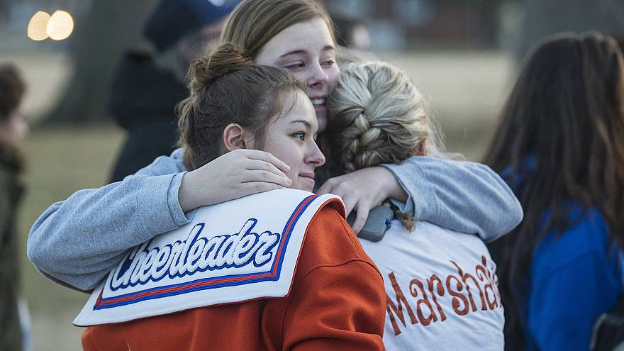 Image: Kentucky SHooting Grieve
