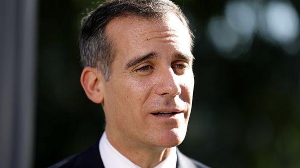 Image: Los Angeles Mayor Eric Garcetti
