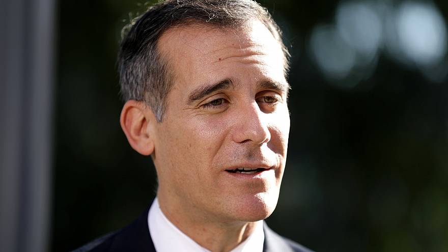 Image: Los Angeles Mayor Eric Garcetti