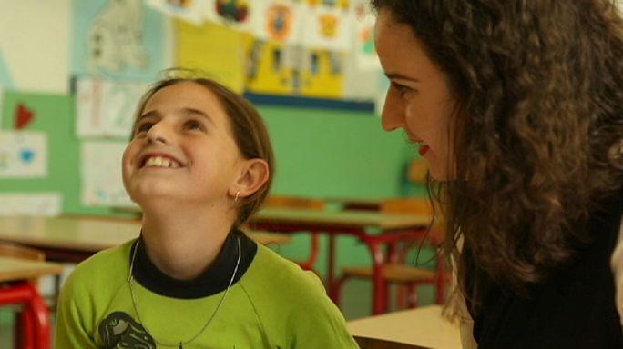 Befogadó iskola egy háborús traumákat viselő országban