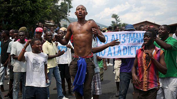 Al menos ocho detenidos en nuevos choques entre civiles y soldados en Burundi