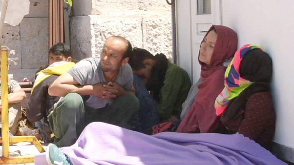 Greek island of Samos feels strain of migrant influx