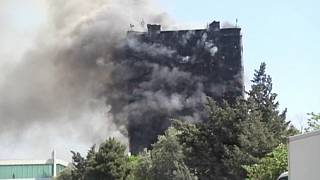 Residential building inferno kills 16 in Baku