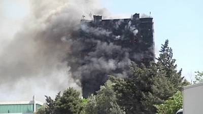 Residential building inferno kills 16 in Baku