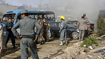 Suicide bomb attack hits Afghanistan capital