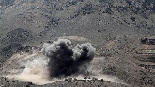 La coalición árabe bombardea enclaves hutíes en Saná tras la tregua