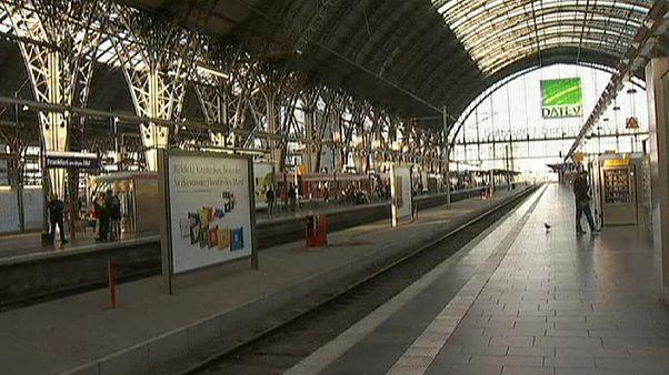 В Германии забастовали железнодорожники