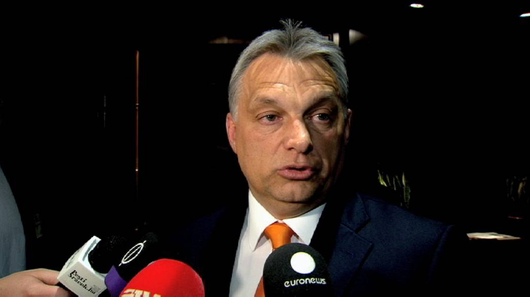 رئيس الوزراء المجري فيكتور أوربان في زيارة مثيرة للجدل إلى البرلمان الأوروبي في ستراسبورغ