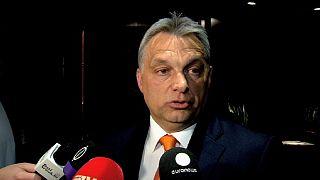 Orban stellte sich der Debatte über Ungarn im Europaparlament