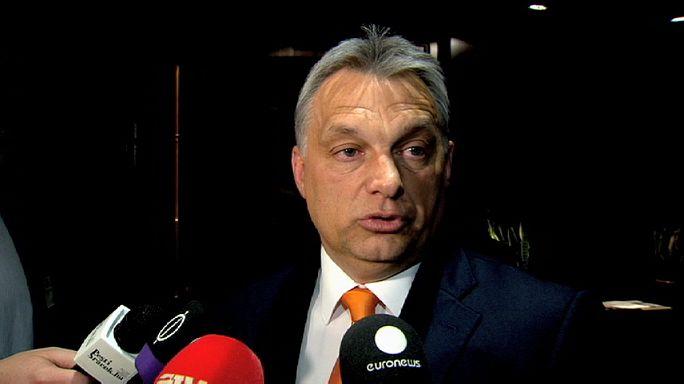 Orbán Viktor az EP előtt