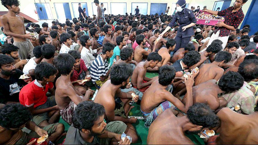 الأمم المتحدة تدعو تايلاندا و ماليزيا و أندونيسا لزيادة عمليات الانقاذ البحري للمهاجرين
