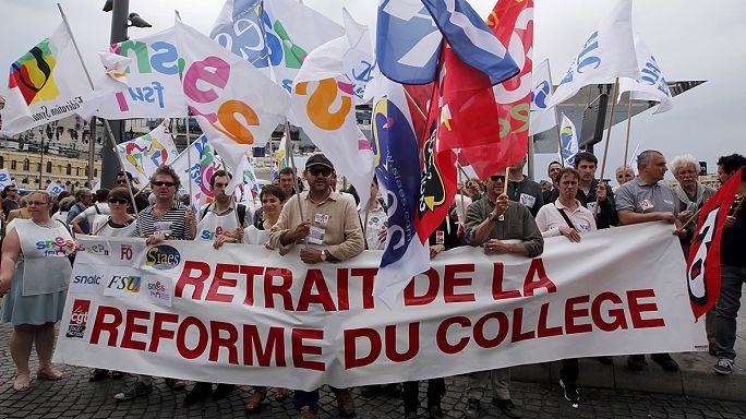 France : réforme des Collèges, au tour des profs de donner de la voix