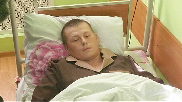 Киев показал предполагаемых российских военных, захваченных на востоке Украины