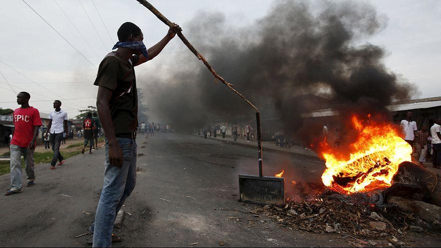 Burundi: Continuam as manifestações contra a candidatura de Pierre Nkurunziza