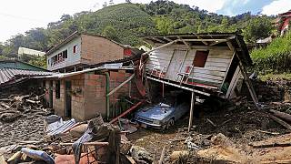 Colombia President promises to help families affected by deadly landslide