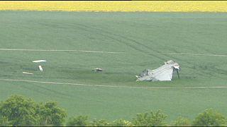 Hungarian Gripen fighter plane crashes in Czech Republic
