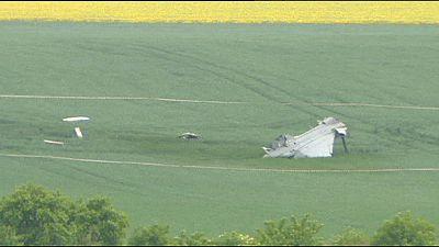 Crash sans victime d'un avion militaire hongrois en République Tchèque