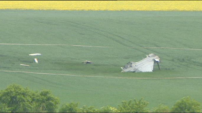 Hungarian Gripen fighter plane crashes in Czech Republic