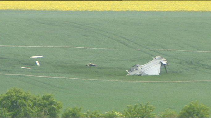 В Чехии разбился венгерский истребитель