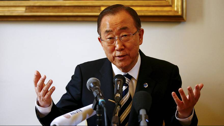 Ban ki-moon'un Kuzey Kore ziyaretine onay çıkmadı
