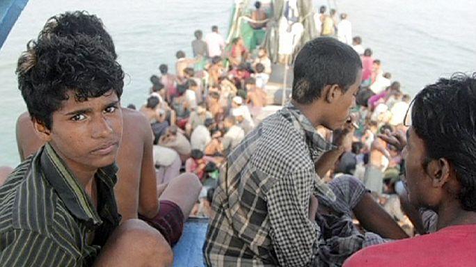 ماليزيا وتايلاندا لمساعدة المهاجرين شرط ان تقوم الاسرة الدولية باعادتهم لبلادهم