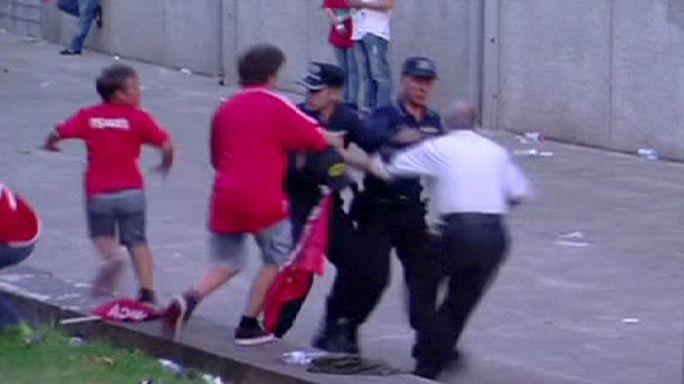 Saját fia előtt vertek meg egy férfit a rendőrök Portugáliában