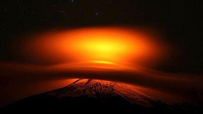 Chile: Erupción del Villarrica